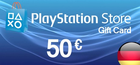 PlayStation Store 50 EURO PSN Gift Card Germany
