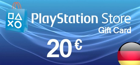 PSN 20 EUR / PlayStation Network Gift Card DE Store