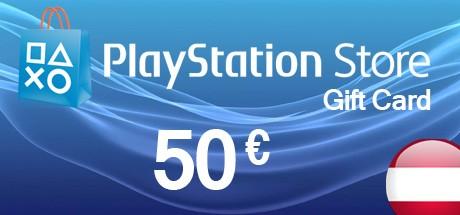 PlayStation Store Guthaben-Aufstockung 50€ (Österreich)
