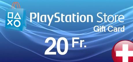 PlayStation Store Guthaben-Aufstockung 20CHF (Schweiz)