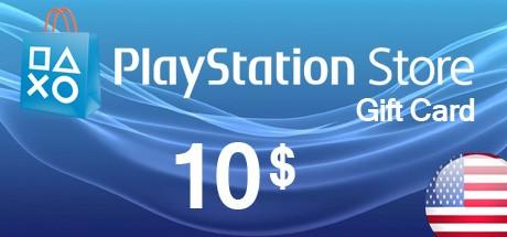 PSN Playstation Network Card 10 USD - US