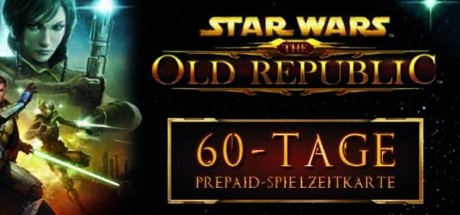 Star Wars The Old Republic Game Time Card 60 Tage Pre-Paid EU Cover