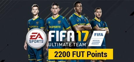 FIFA 17 Ultimate Team 2200 FUT Points Cover