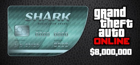 Grand Theft Auto V Online: Megalodon Shark: GTA$8,000,000 Cover