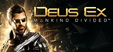 Deus Ex: Mankind Divided Cover