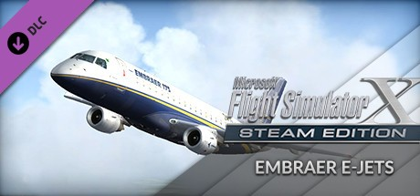 FSX: E-Jets V.2 Embraer 175 And 195