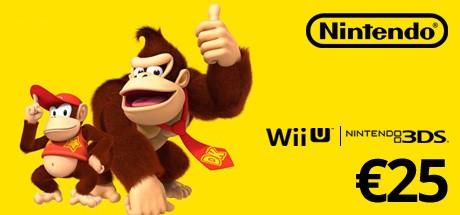 Nintendo eShop Card 25