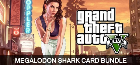 Grand Theft Auto V Megalodon Shark Card Bundle Cover