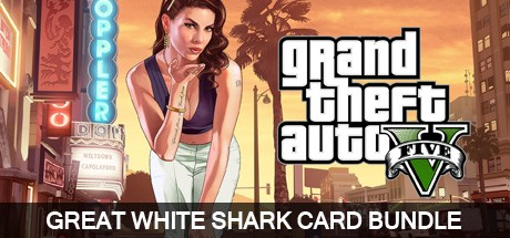 Grand Theft Auto V Great White Shark Card Bundle Cover