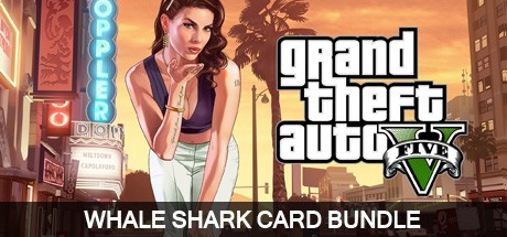 Grand Theft Auto V Whale Shark Card Bundle Cover