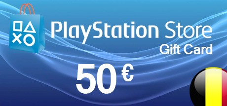 PSN Playstation Network Card 50 EUR - BE