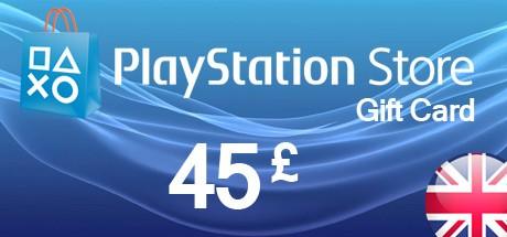 PSN Playstation Network Card 45 GBP - UK