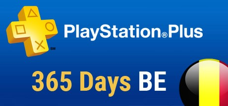 Playstation Plus Card - 365 Tage (Belgien) Cover