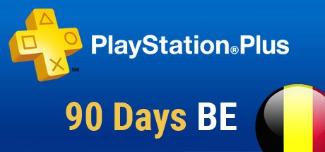 Playstation Plus Card - 90 Tage (Belgien) Cover