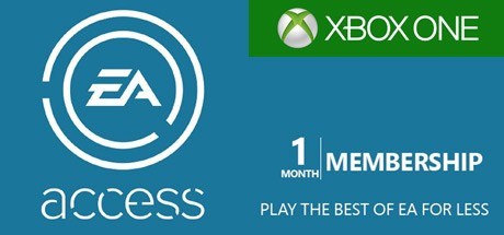 Xbox One EA Access 1 Month cd-key GLOBAL
