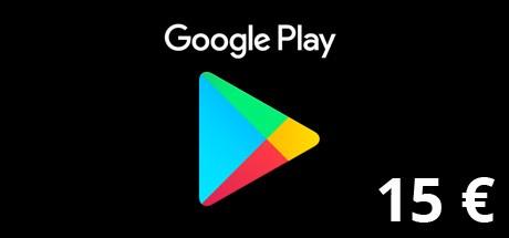 Google Play Gutscheincode 15