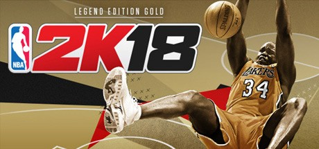 NBA 2K18 - Legend Edition Gold Cover
