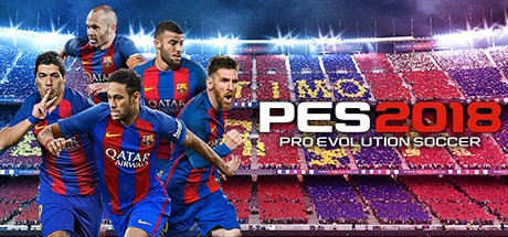 PES Pro Evolution Soccer 2018 Cover