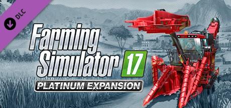 Landwirtschafts-Simulator 17 - Platinum Add-On Cover