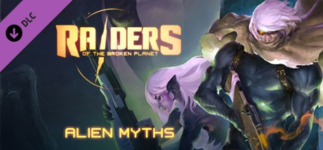 Raiders of the Broken Planet - Alien Myths Campaign Cover