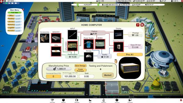 Computer Tycoon Screenshot