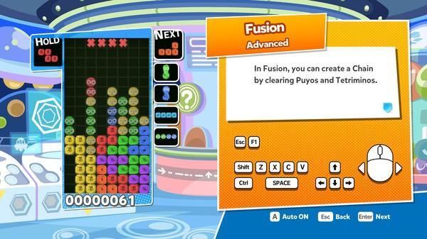 Puyo Puyo Tetris Screenshot