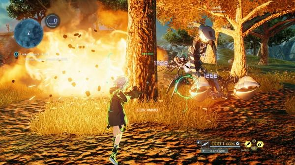 Sword Art Online: Fatal Bullet Screenshot