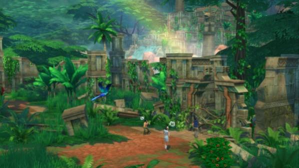 Die Sims 4: Dschungel-Abenteuer Screenshot