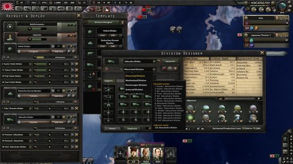 Hearts of Iron IV: Waking the Tiger Screenshot