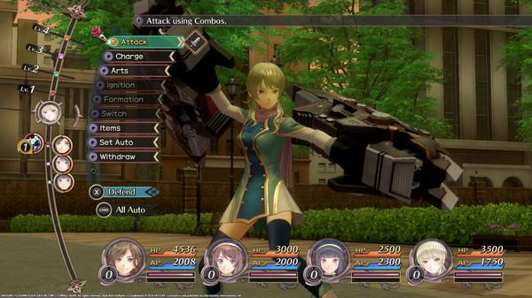 Dark Rose Valkyrie Screenshot
