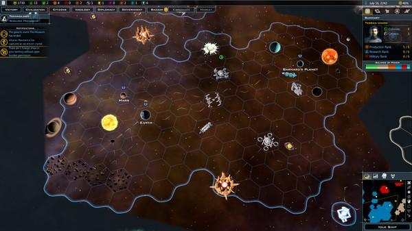 Galactic Civilizations III: Intrigue Screenshot