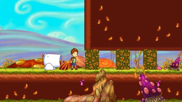 A Boy and His Blob Screenshot