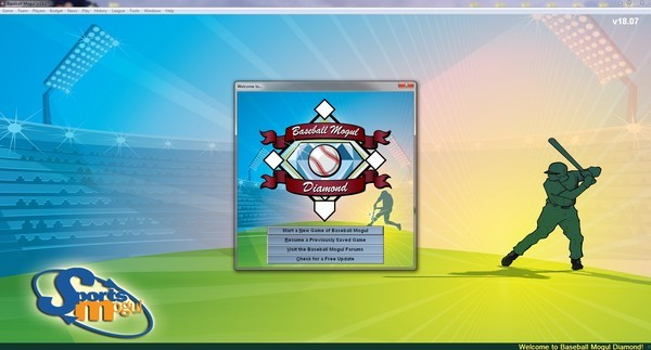 Baseball Mogul Diamond Screenshot