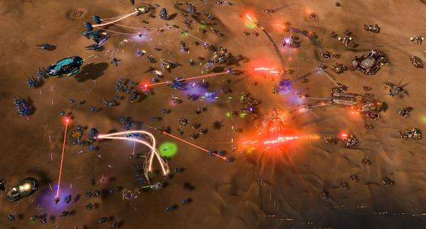 Ashes of the Singularity: Escalation Screenshot
