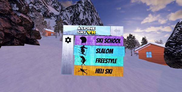 Alpine Ski VR Screenshot
