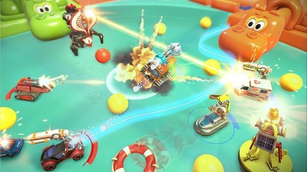 Micro Machines World Series Screenshot