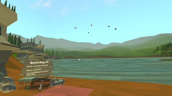 Daydream Blue Screenshot