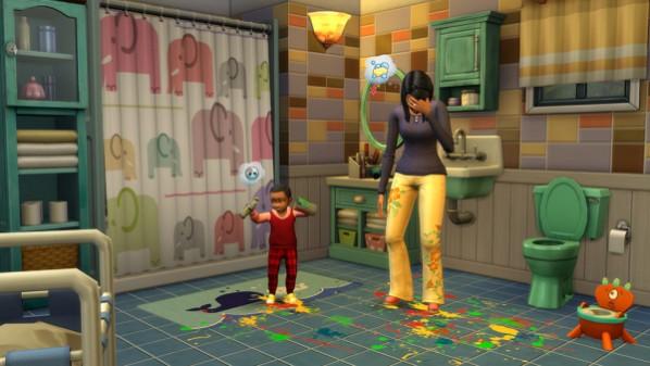 Die Sims 4 - Bundle Pack 5: Elternfreuden, Vintage Glamour- & Bowling Abend Accessoires Screenshot