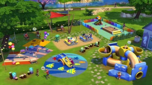 Die Sims 4: Kleinkind-Accessoires Screenshot