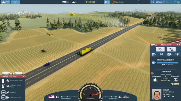 TransRoad: USA Screenshot